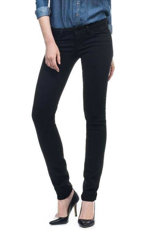Jeans Shape Up True Black avec coupe slim | 100212 Noir ...